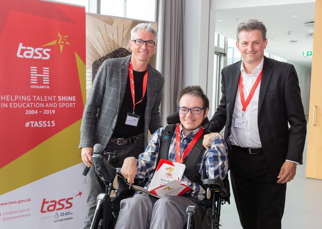 Young earns Athlete of the Year accolade at Boccia England Awards