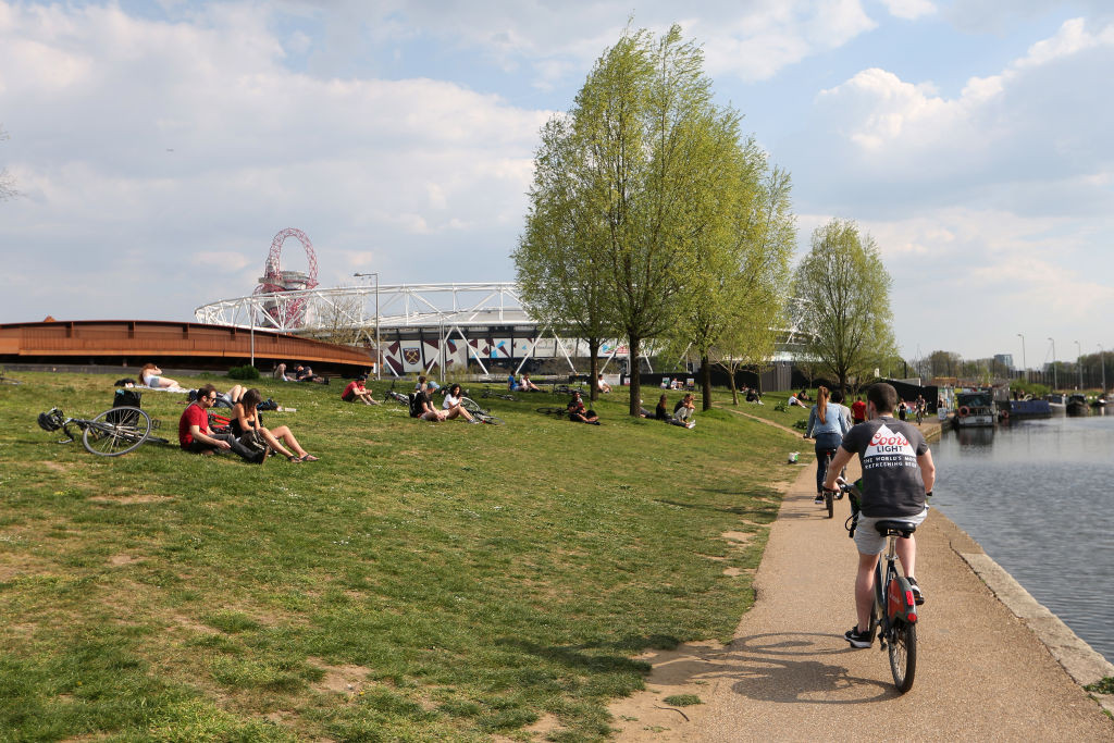 Queen Elizabeth Olympic Park named among Britain's favourite parks in nationwide poll