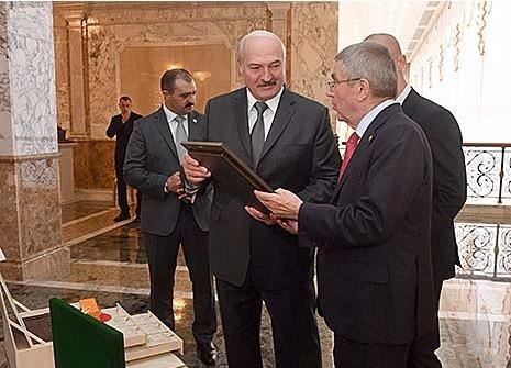 Alexander Lukashenko has been banned from attending Tokyo 2020 ©Belarus Government