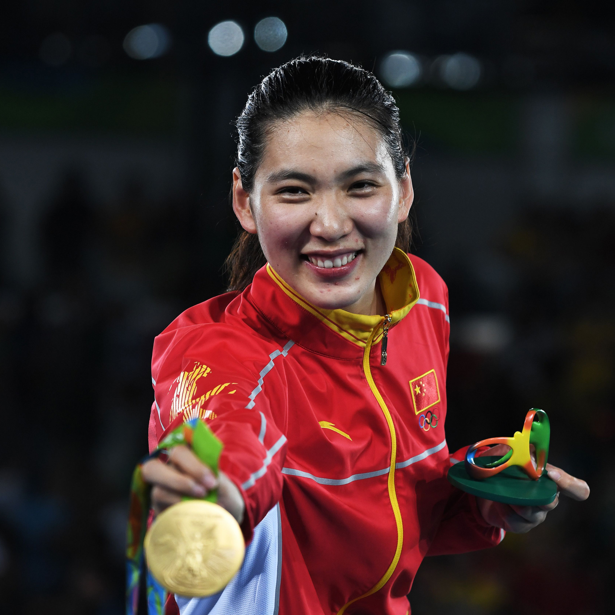 Shuyin Zheng: China's Olympic champion who shed tears in Manchester