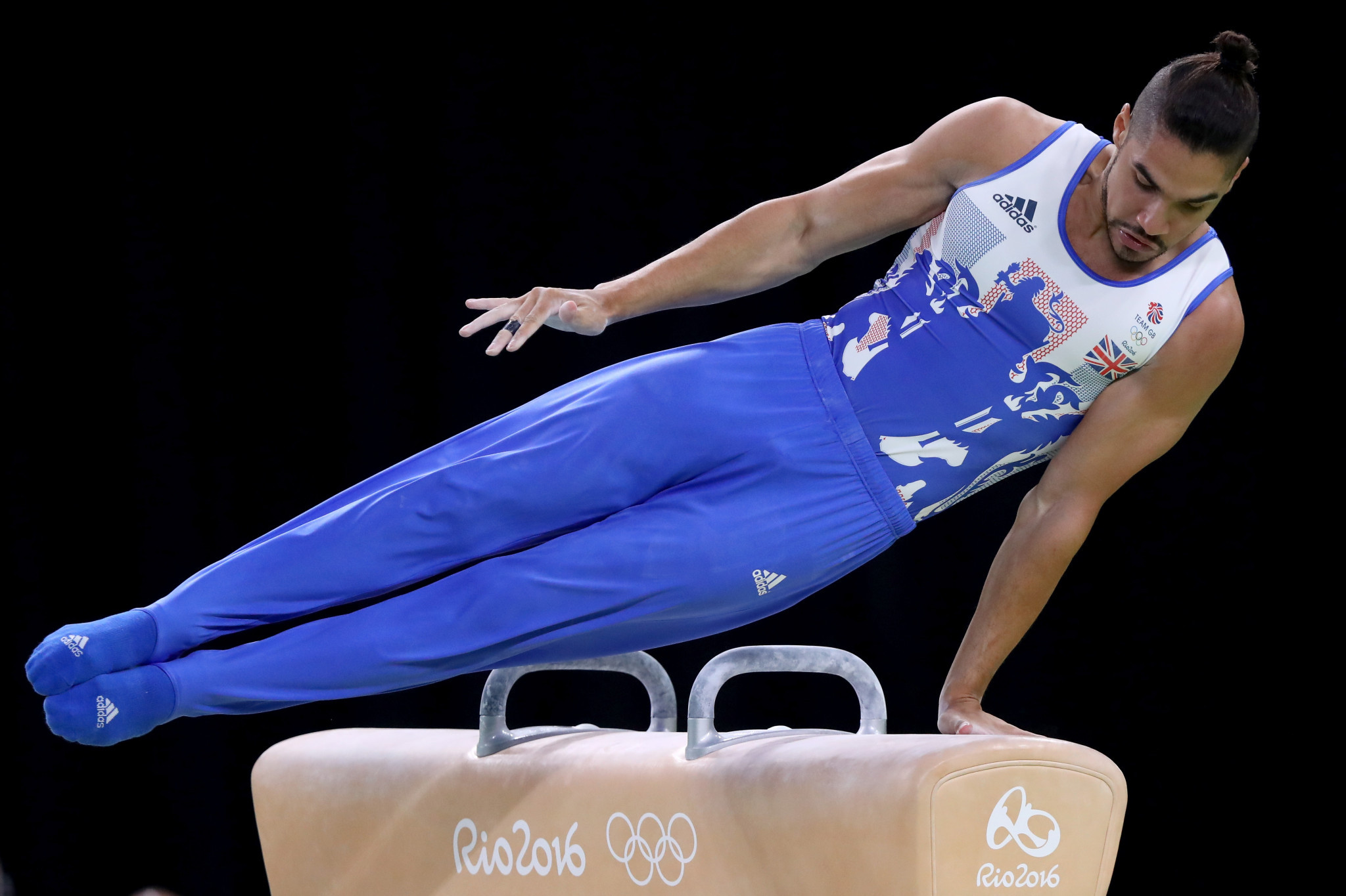 Four-time Olympic medallist Louis Smith claimed British Gymnastics changed after he won bronze at Beijing 2008 ©Getty Images