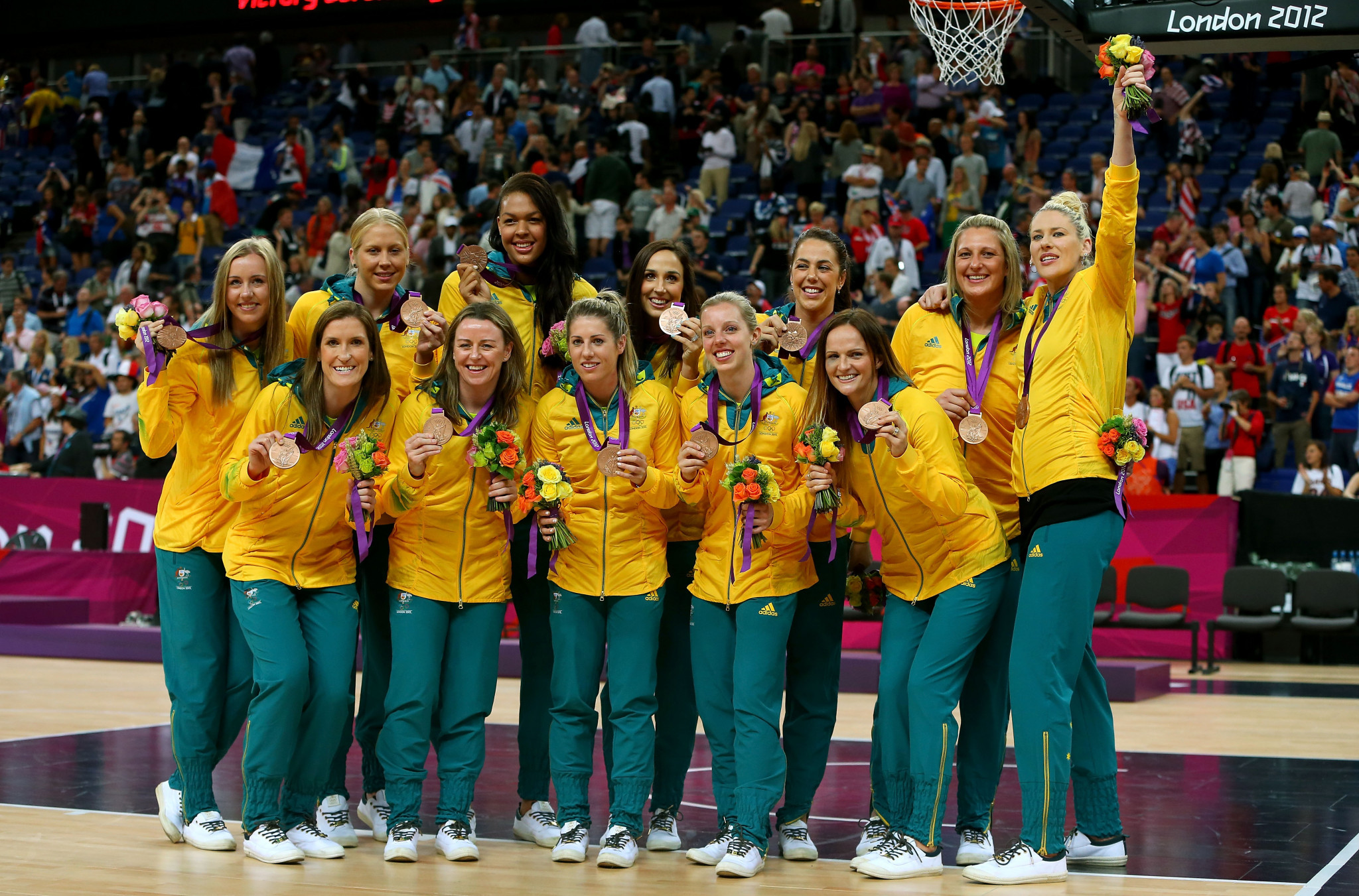 Australia's last Olympic medal in women's basketball was a bronze at London 2012 ©Getty Images