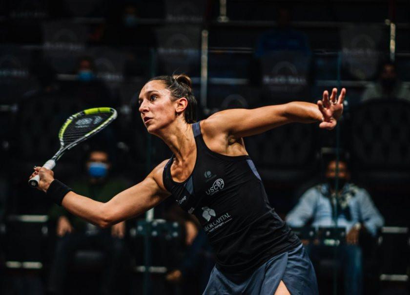 Serme sails into second round of PSA Black Ball Squash Open
