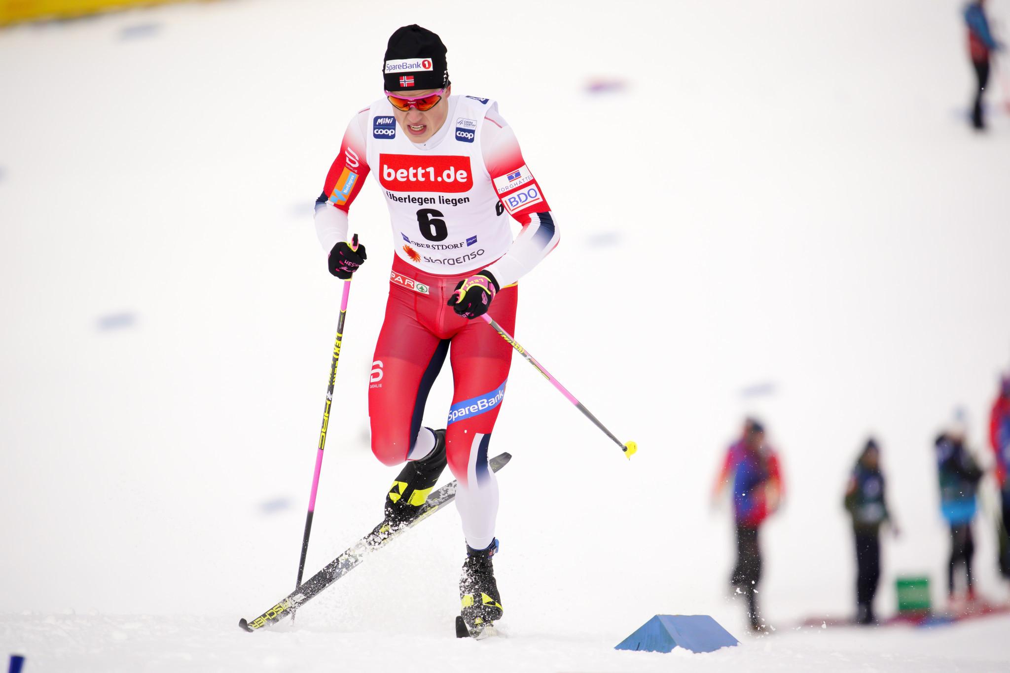 Norway's Johannes Høsflot Klæbo will miss out on next month's Tour de Ski ©Getty Images