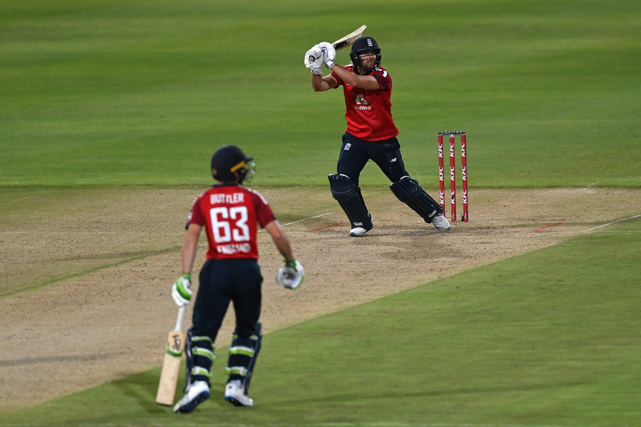 England won a Twenty20 series against the hosts prior to coronavirus impacting the one-day matches ©Getty Images