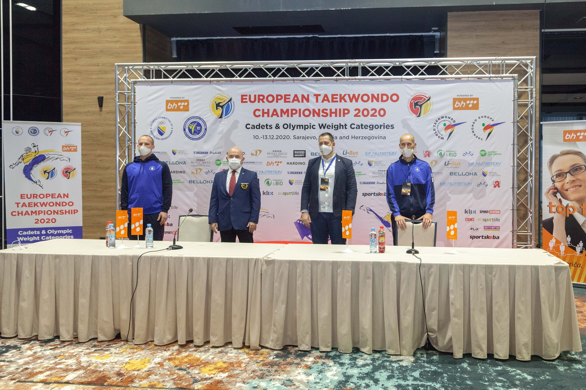 Preparations for the competition were praised by officials ©Facebook/Taekwondo Europe