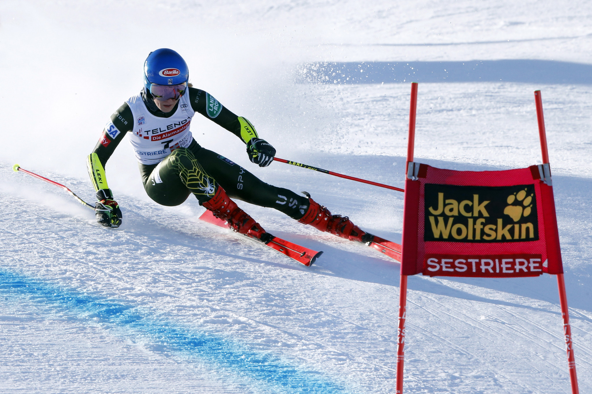 Mikaela Shiffrin is set to compete in her first giant slalom race since January this weekend ©Getty Images