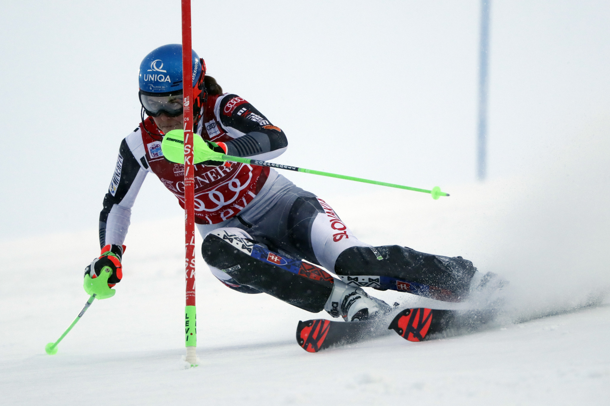 Petra Vlhová will be eyeing a fourth straight World Cup win in Courchevel ©Getty Images