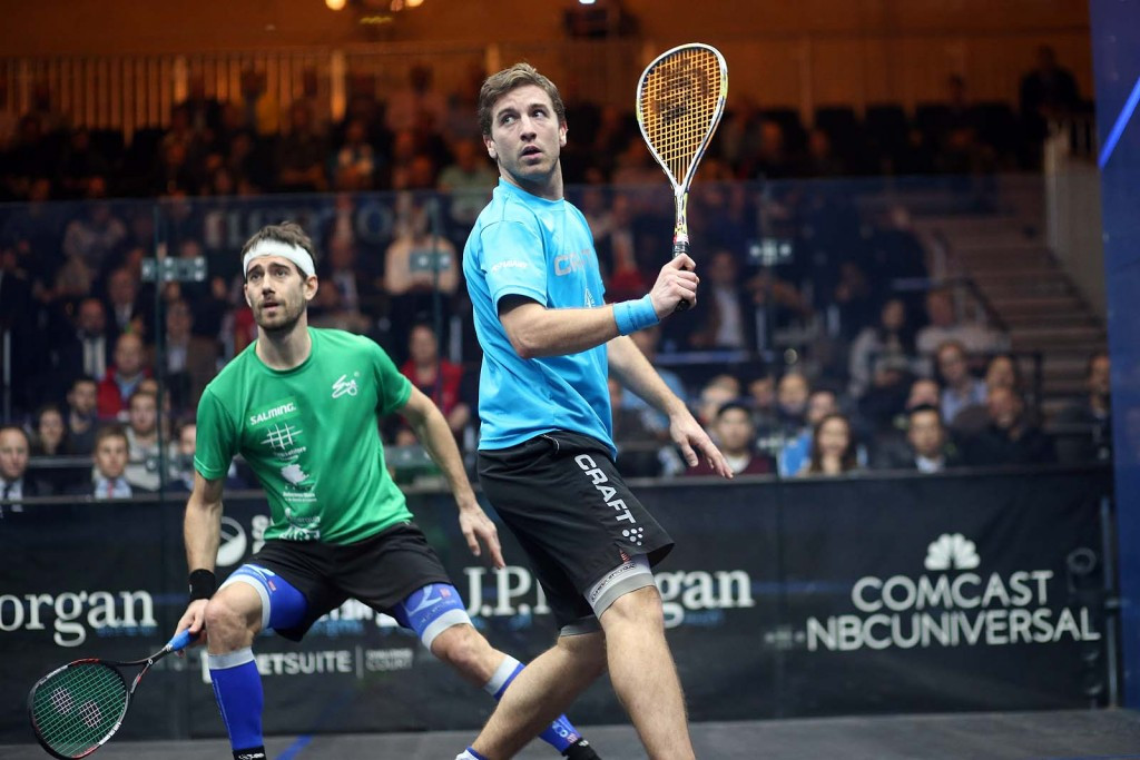 Frenchman Mathieu Castagnet has reached the semi-finals of a PSA World Series event for the first time ©PSA
