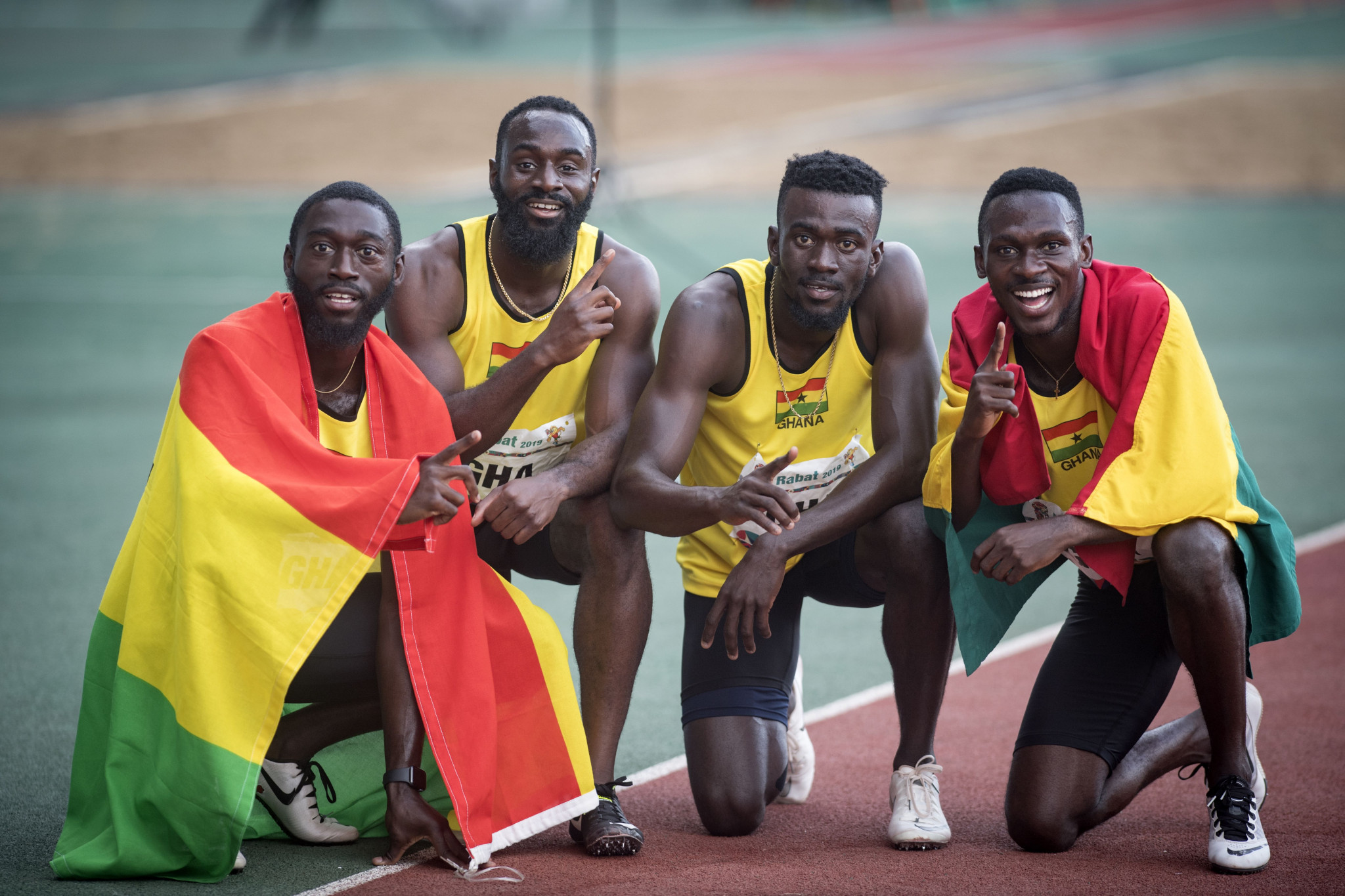 """Ghanaian athletes have been urged to develop a """"mental toolkit"""" for the 2023 African Games ©Getty Images"""