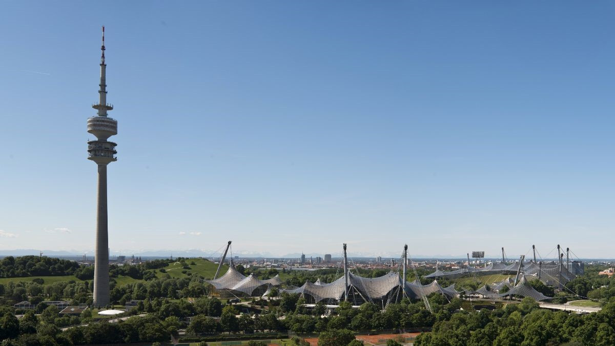 The Olympiapark will host the European Championships in 2022 ©ECM
