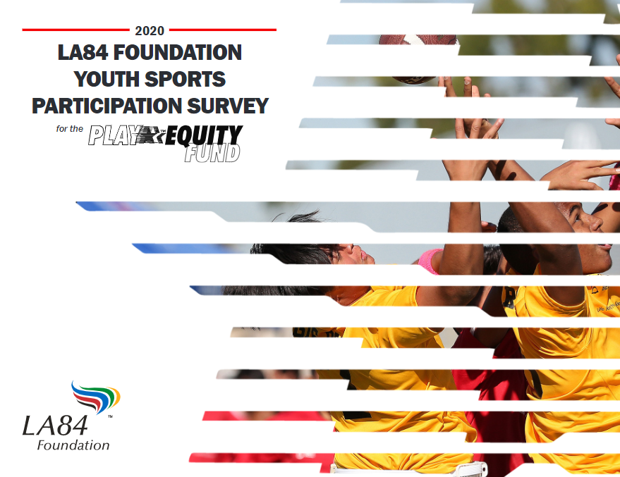 LA84 Foundation publishes results of youth participation survey