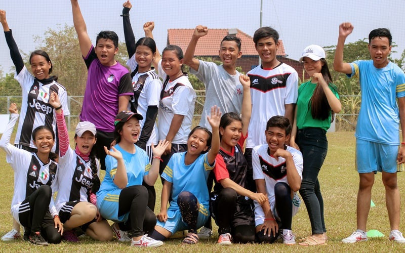 Cambodian charity's football project recognised with Peace and Sport prize