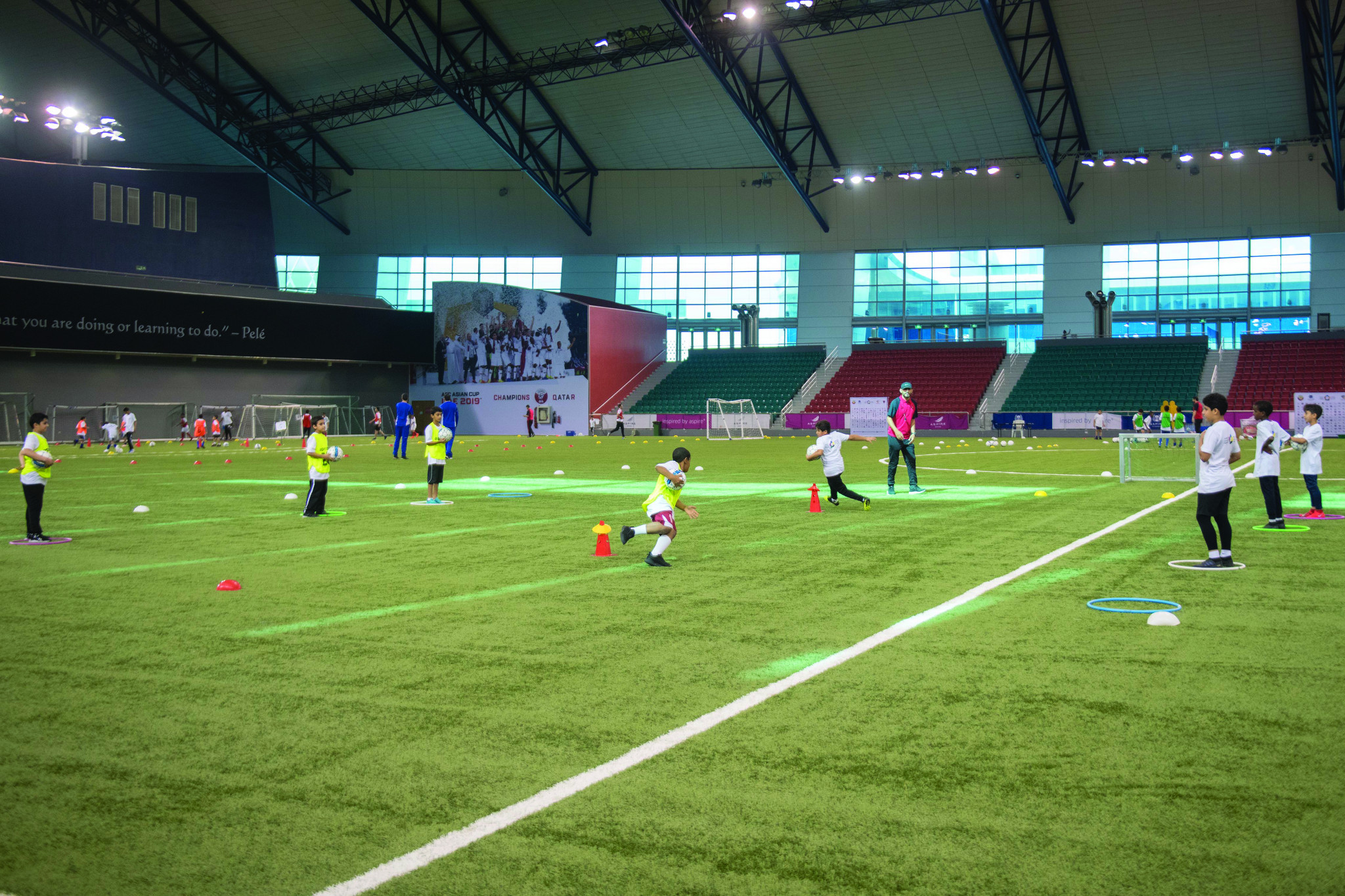 Doha 2030 will use existing facilities as part of its legacy programme ©Doha 2030