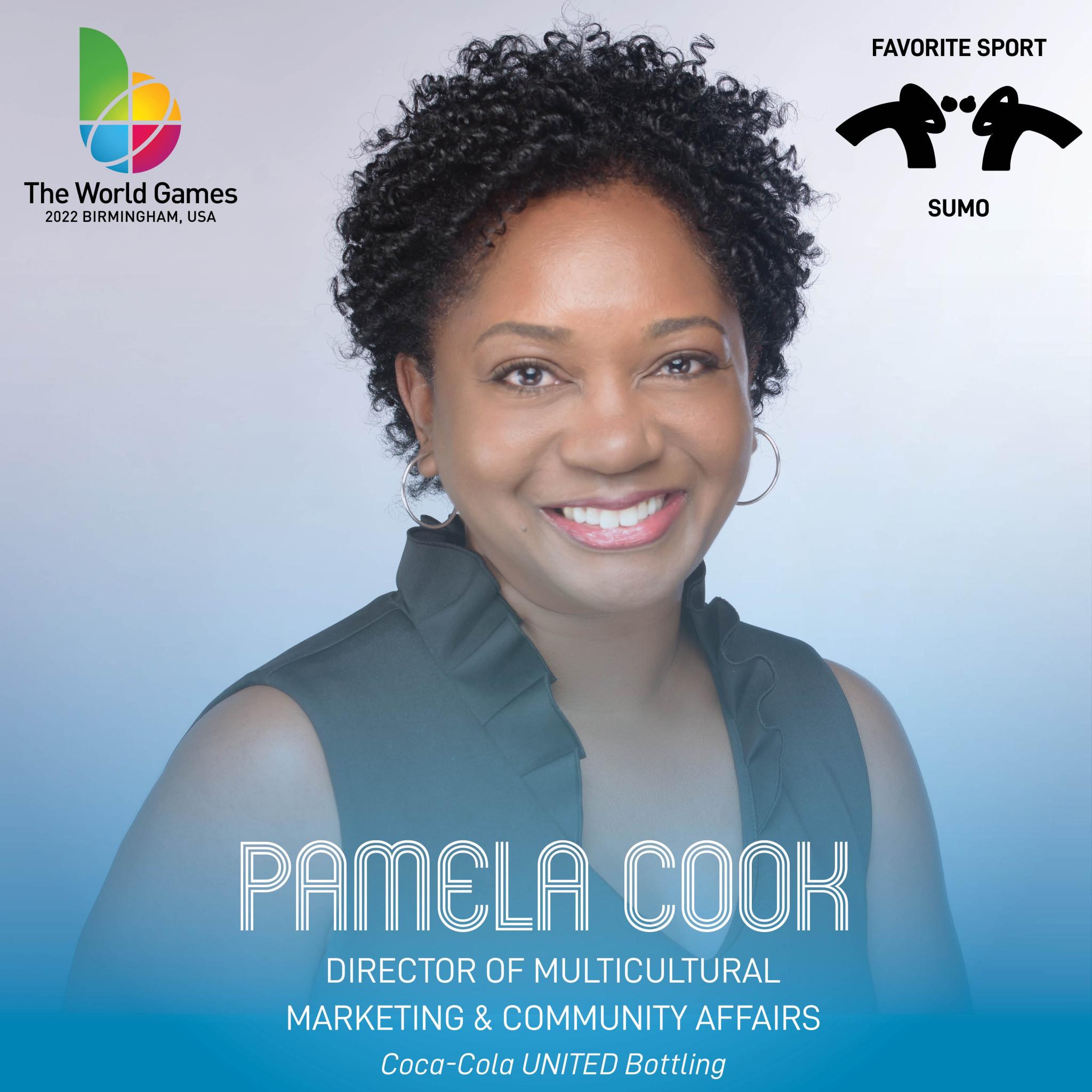 Pamela Cook is one of three new Birmingham 2022 Board members ©Birmingham 2022
