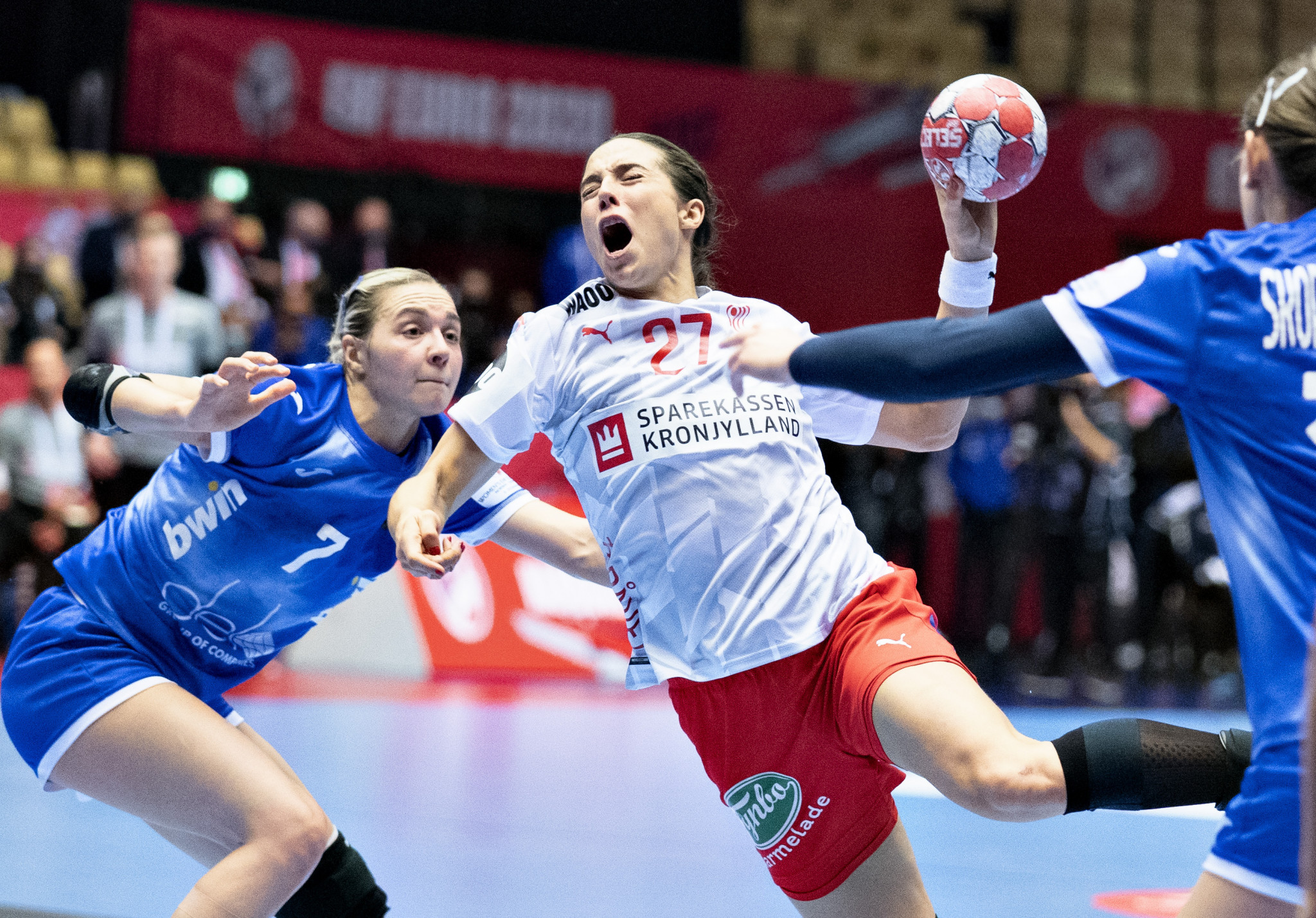 Denmark defeated Russia to reach the final four ©Getty Images
