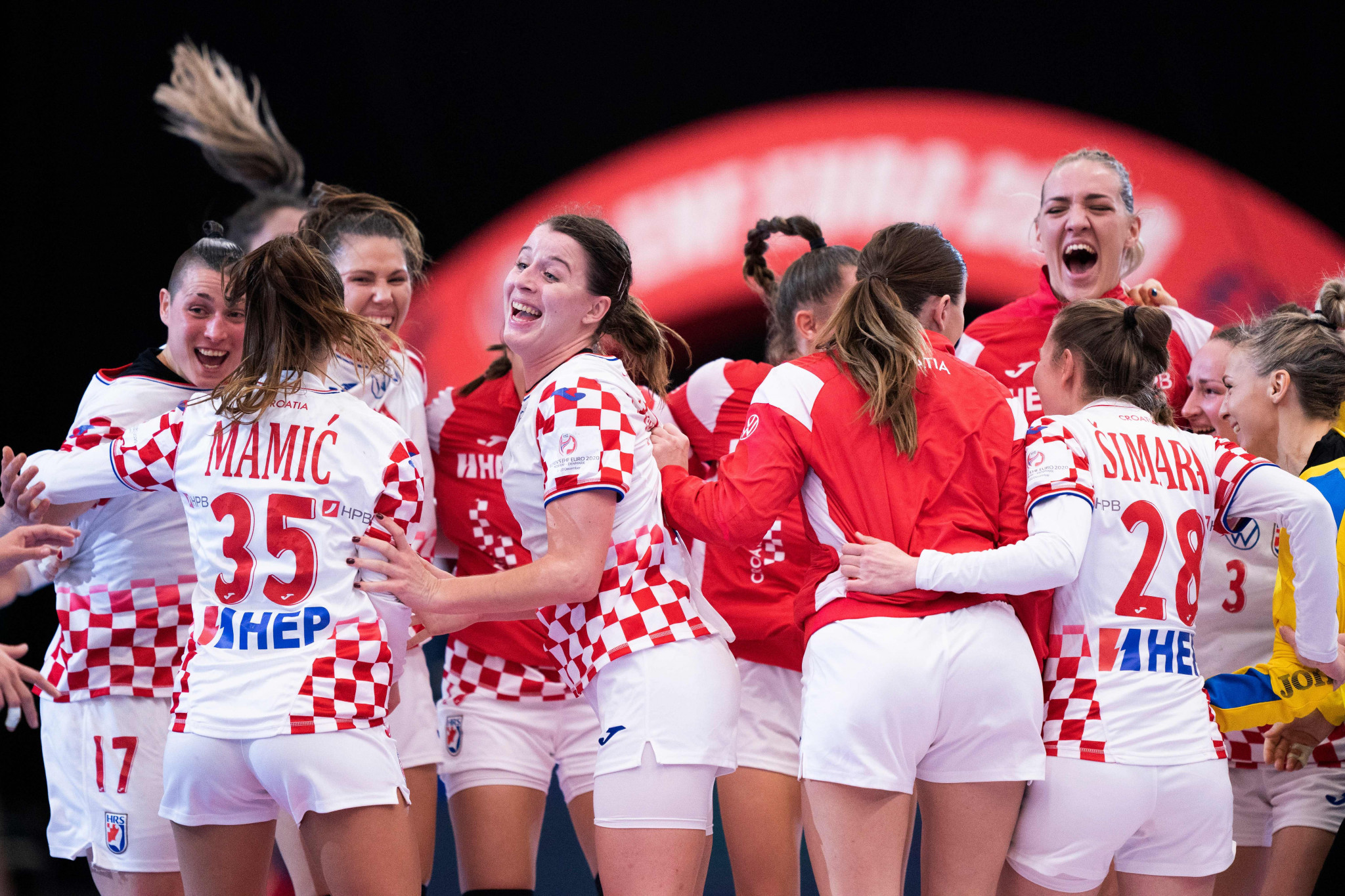 Croatia are through to a first-ever European Women's Handball Championship semi-final ©Getty Images