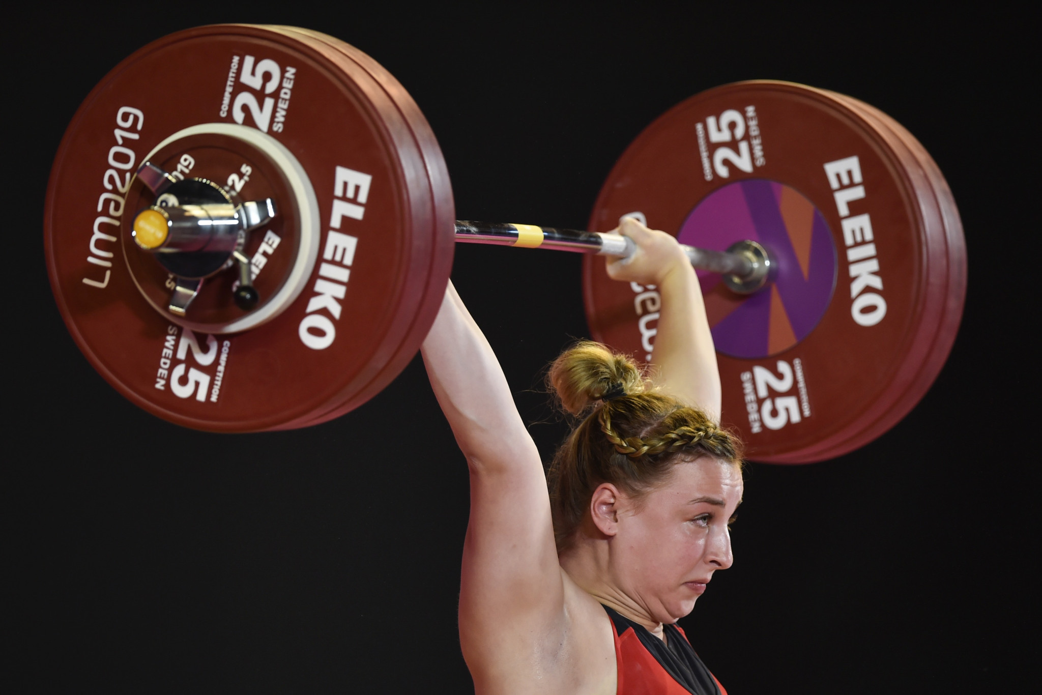 Kate Nye, the IWF's current female weightlifter of the year, was among the winners at the last edition of its Junior World Championships ©Getty Images