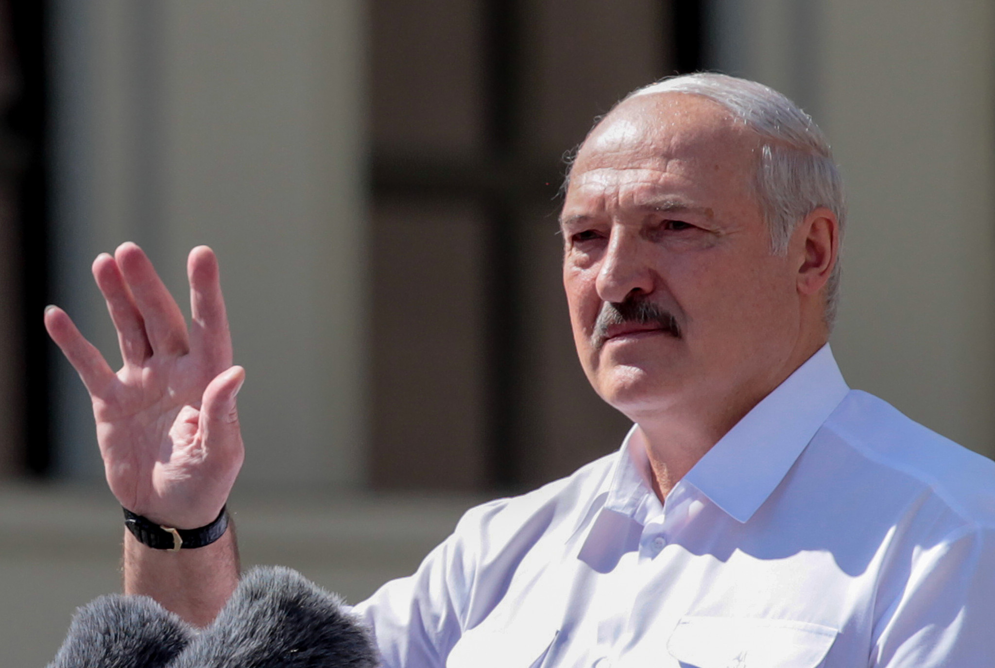 Alexander Lukashenko is President of the National Olympic Committee of the Republic of Belarus, as well as the country itself ©Getty Images