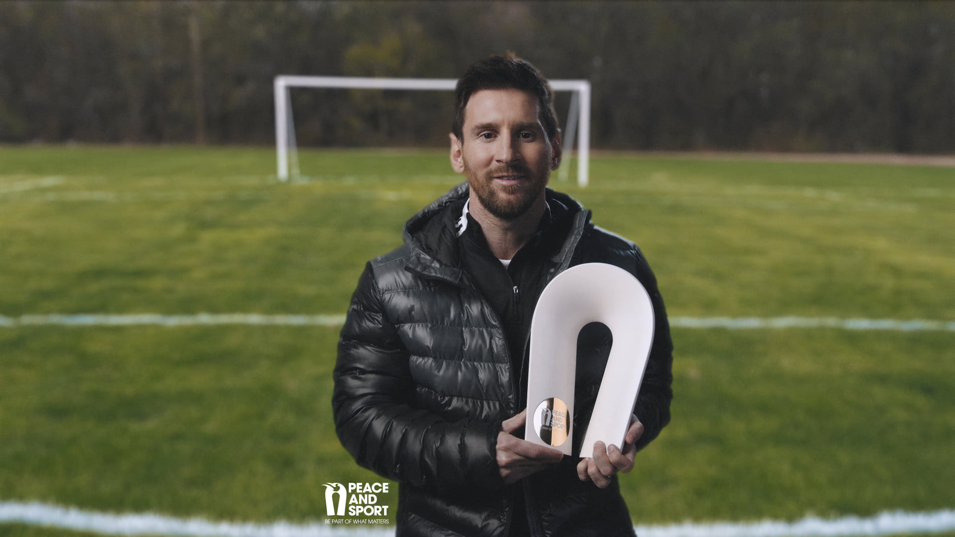 Messi recognised for work on and off the field at 2020 Peace and Sport Awards