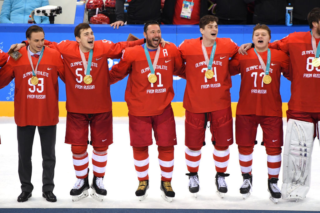 Russian athletes at Pyeongchang 2018 competed as