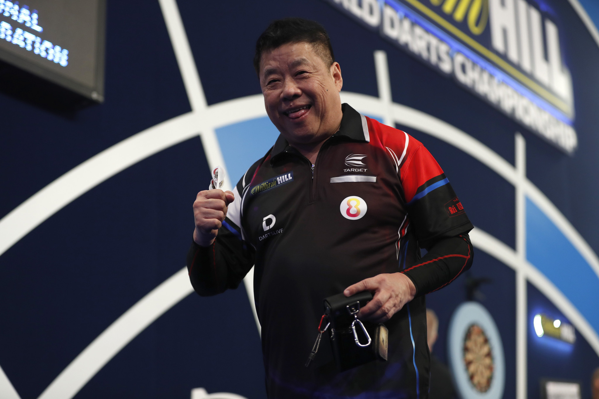 """Lim, 66, claims win """"for the old guys"""" on day four of PDC World Darts Championship"""