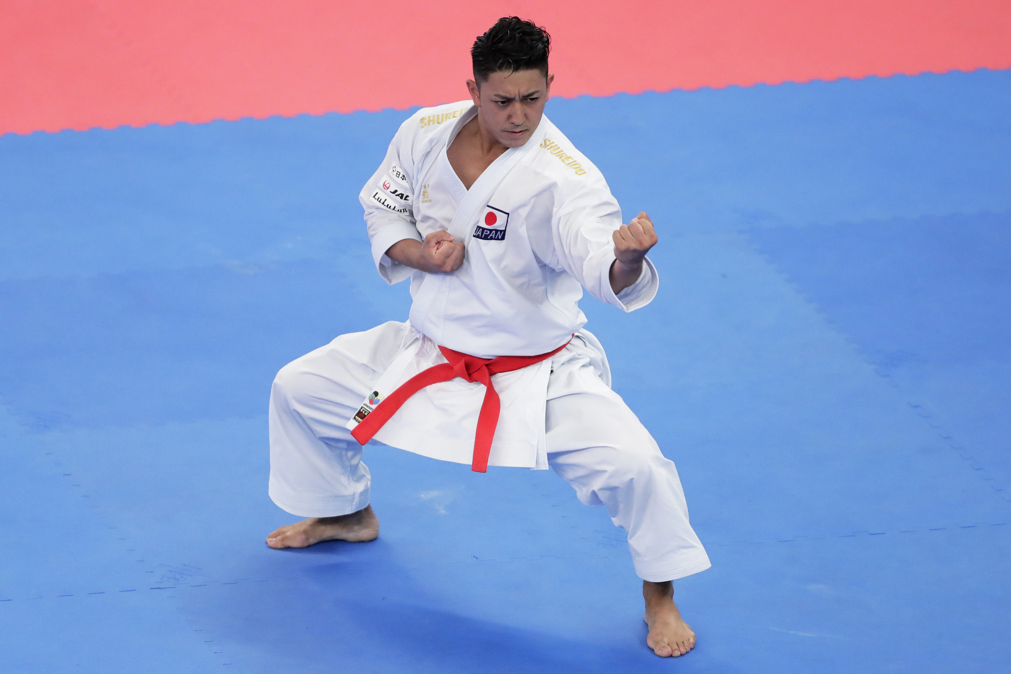 Ryo Kiyuna has won three successive individual world titles in kata and is expected to be in the mix for gold at Tokyo 2020 ©Getty Images