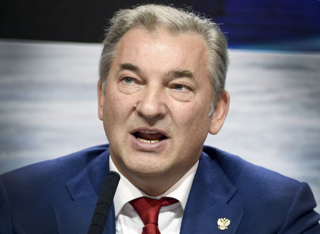 Three-time Olympic ice hockey gold medallist Vladislav Tretiak has been an IIHF Council member since 2012 ©Getty Images