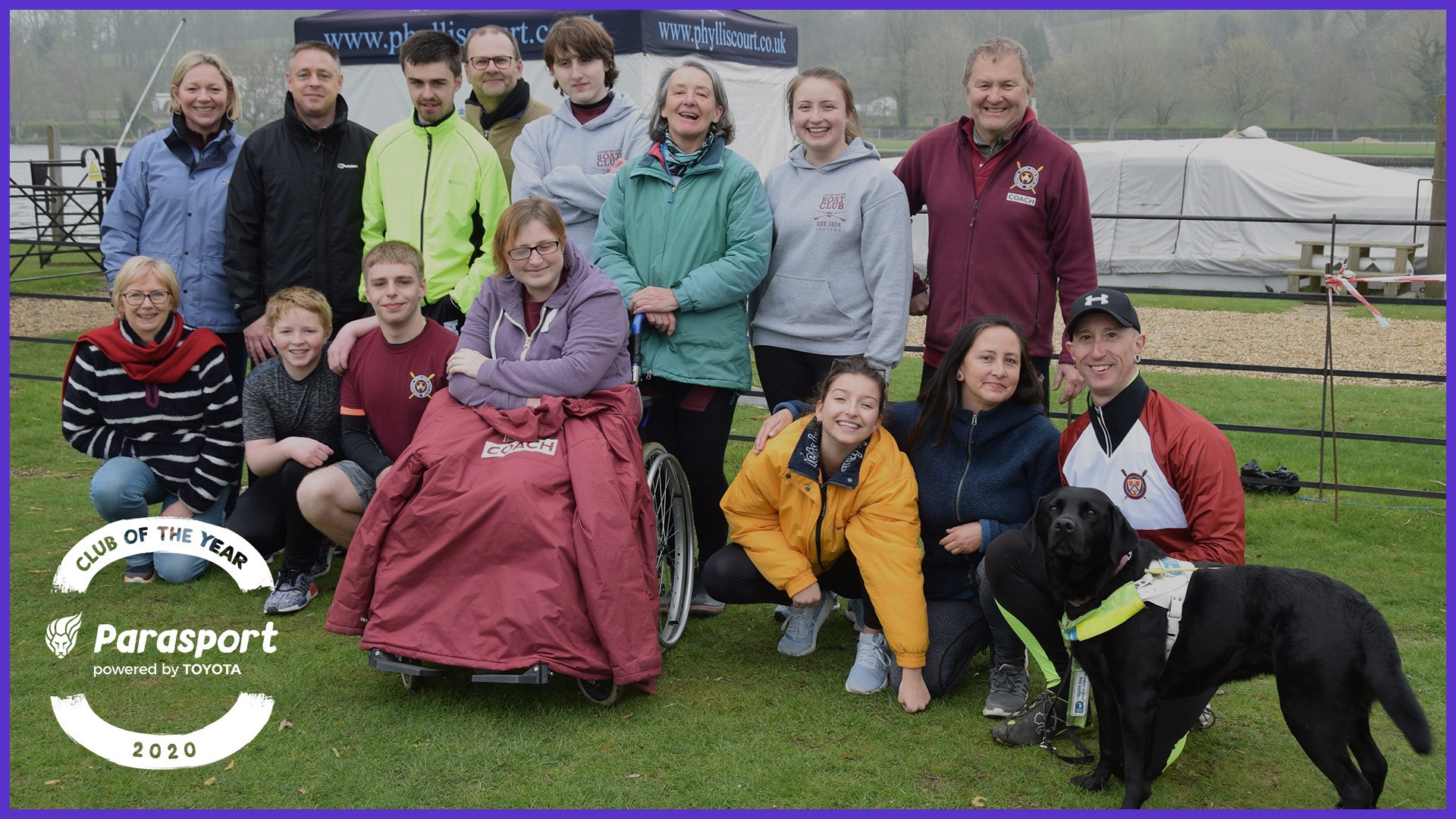 Stratford-upon-Avon Boat Club named first Parasport Club of the Year