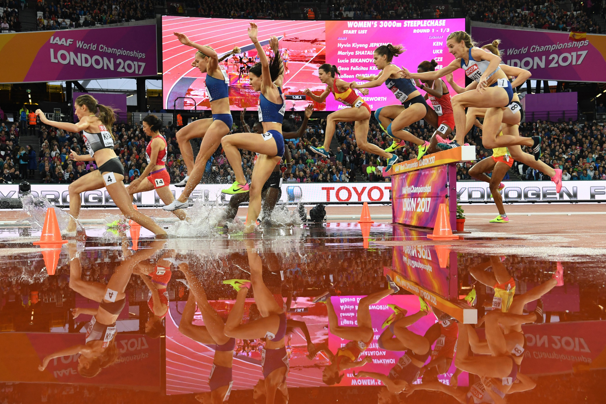 London staged the 2017 edition of the World Athletics Championships in the stadium built for the 2012 Olympics ©Getty Images