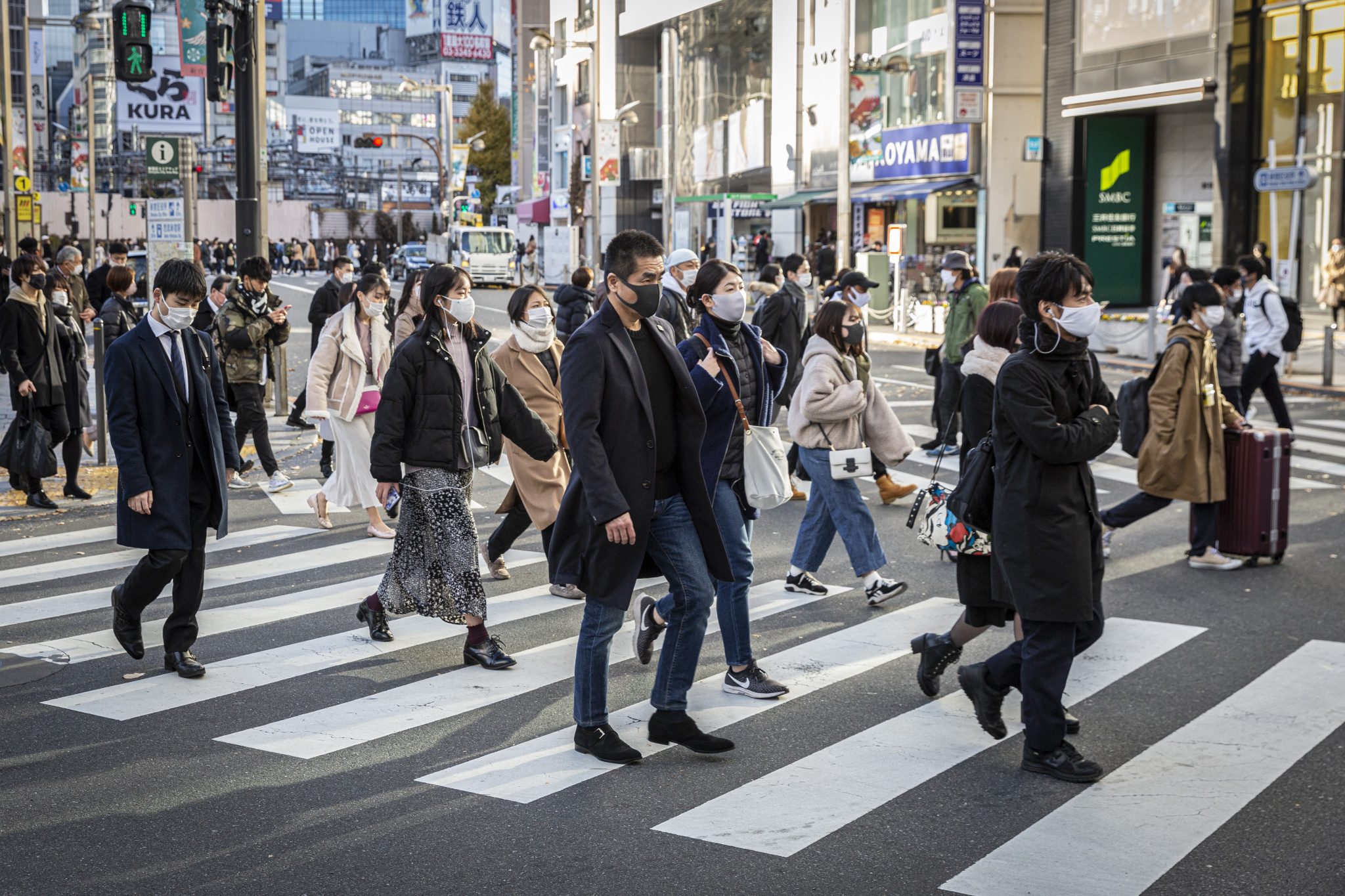 Tokyo has reached 10,000 coronavirus cases in a month for the first time since the beginning of the pandemic ©Getty Images