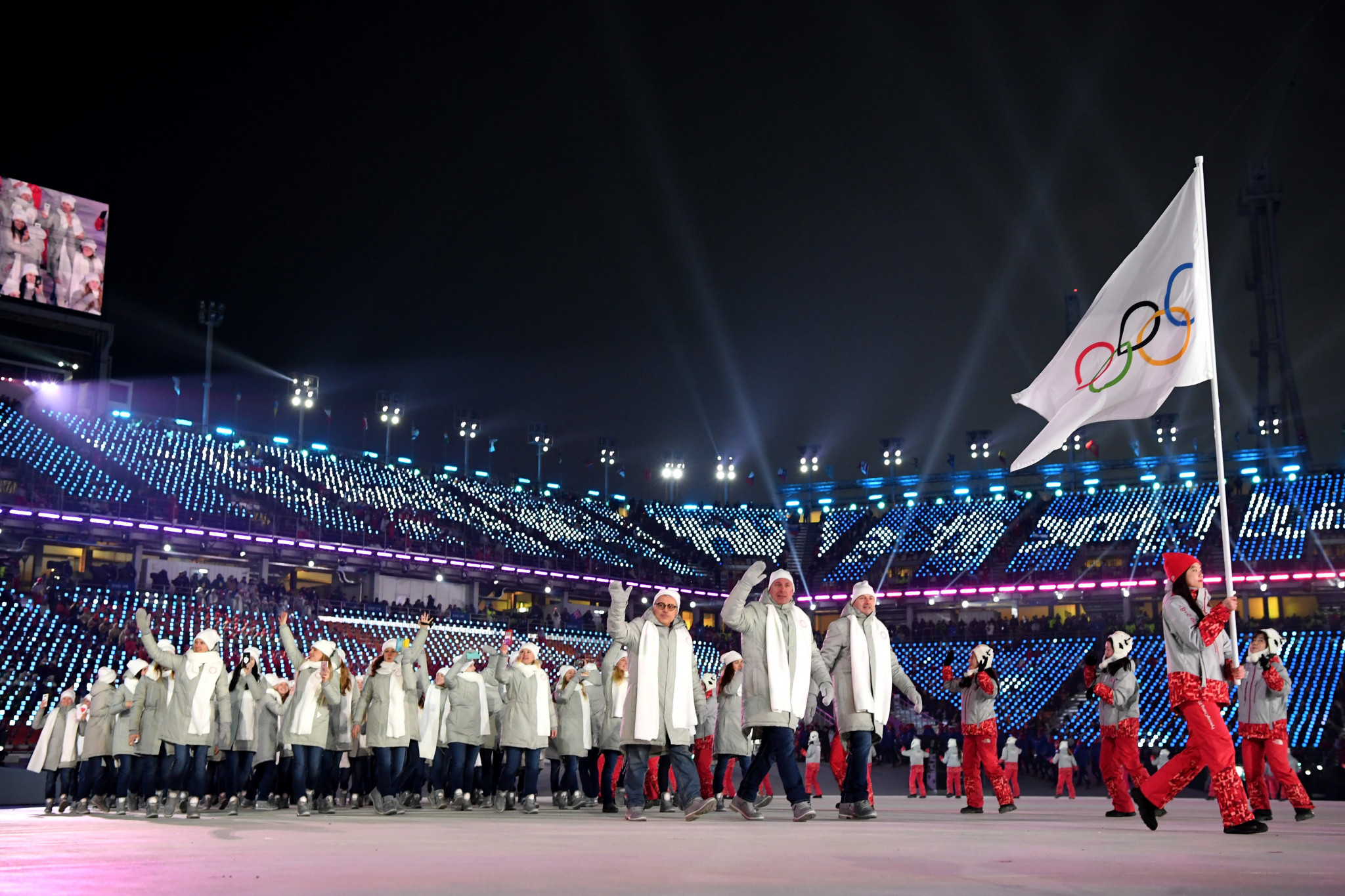 Russian athletes competed under the banner of the Olympic Athletes from Russia at Pyeongchang 2018 ©Getty Images