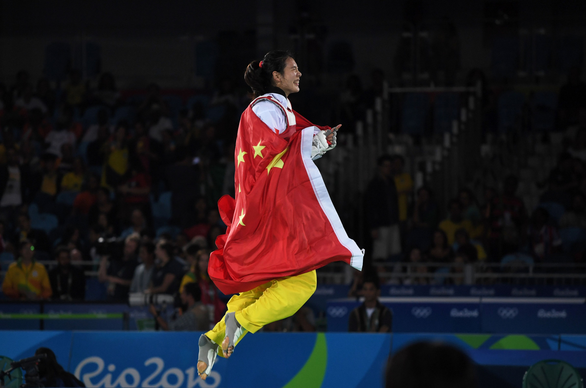 Shuyin Zheng won Olympic gold at Rio 2016 ©Getty Images