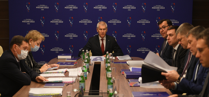 Matytsin says CAS decision adds concerns to planning for 2022 FIVB Men's World Championship
