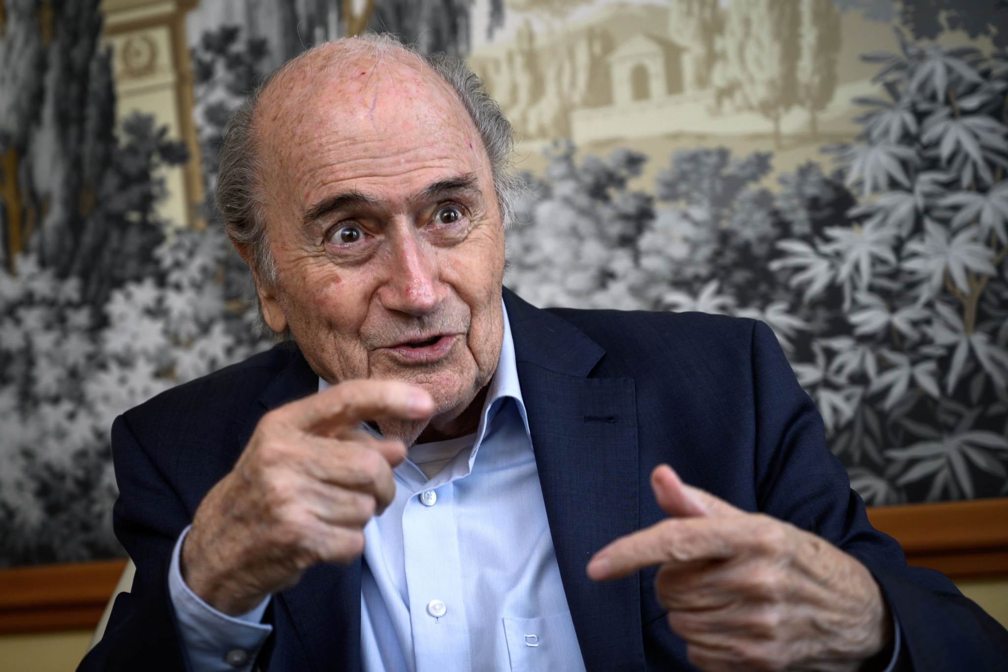 FIFA has filed a criminal complaint against Sepp Blatter who was head of the organisation for 17 years before being banned in 2015 ©Getty Images