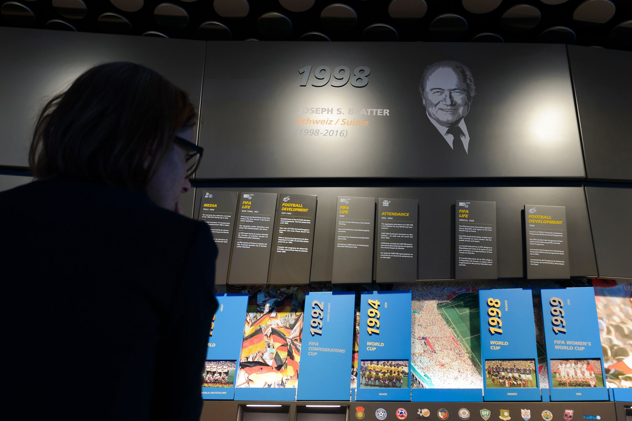 The Zurich-based FIFA World Football Museum was opened in 2016 to showcase the history of the sport ©Getty Images