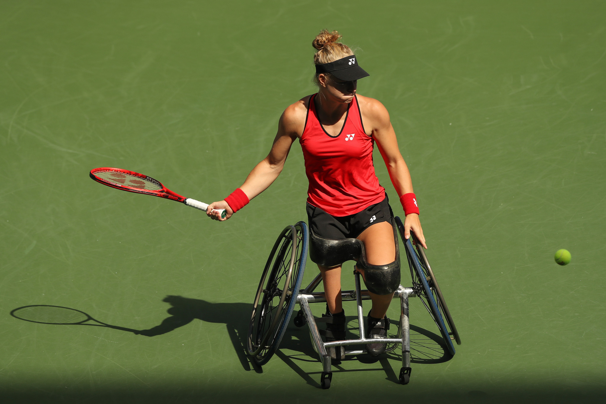 Diede De Groot of the Netherlands won at the US Open and French Open this year ©Getty Images