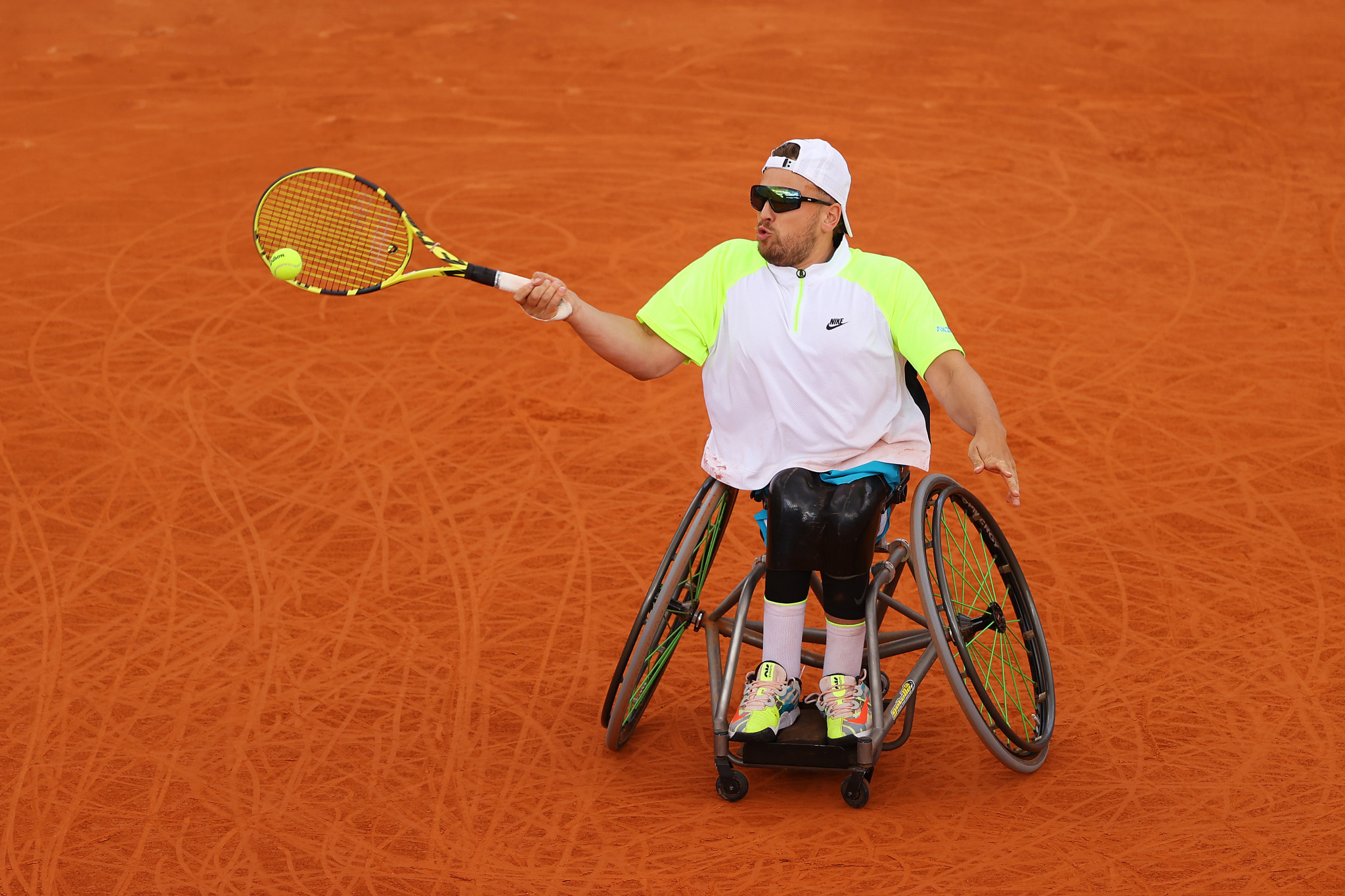 """Dylan Alcott said it was a """"massive honour"""" to be the quads world number one at the end of the year ©Getty Images"""