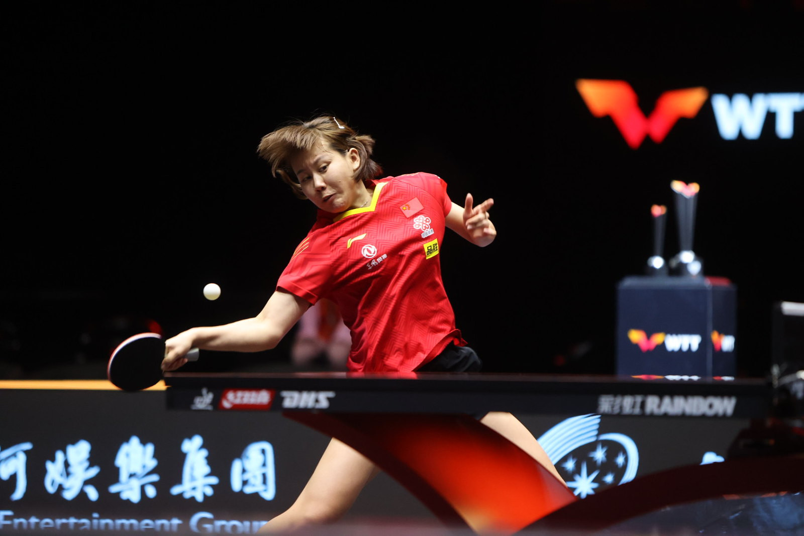 A World Table Tennis showcase was held in Macau in November ©Getty Images