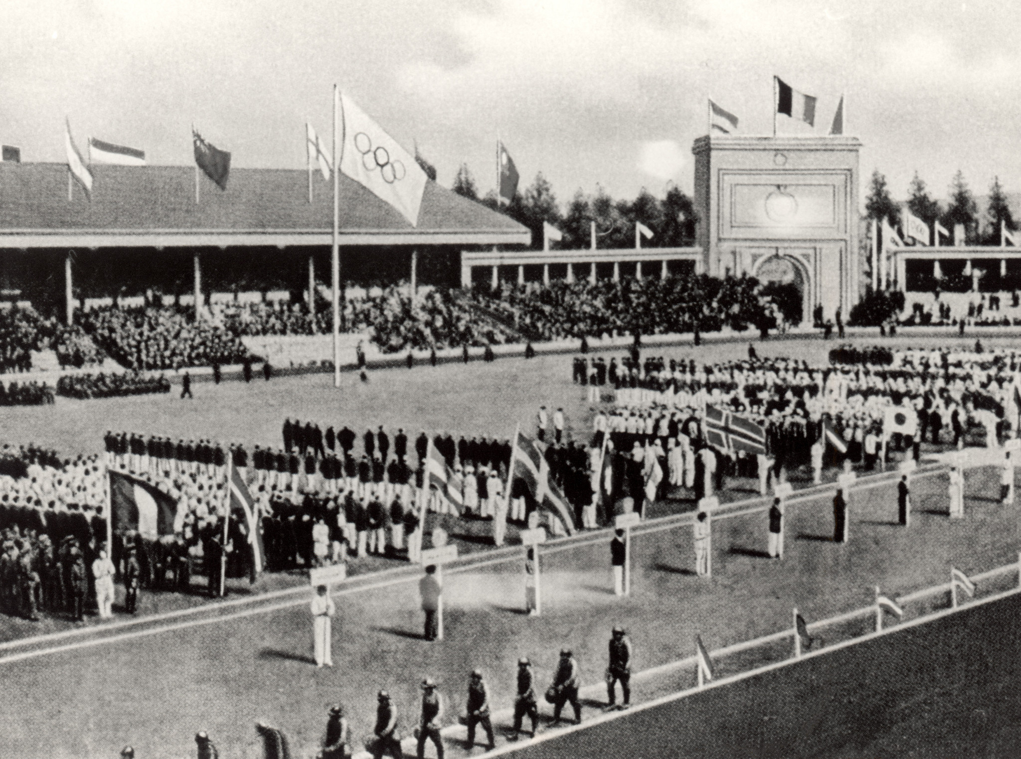 The International Amateur Boxing Federation is founded during the 1920 Olympic Games in Antwerp ©Getty Images