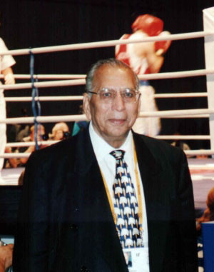 Anwar Chowdhry of Pakistan becomes the fifth AIBA President ©Pakistan Boxing Federation