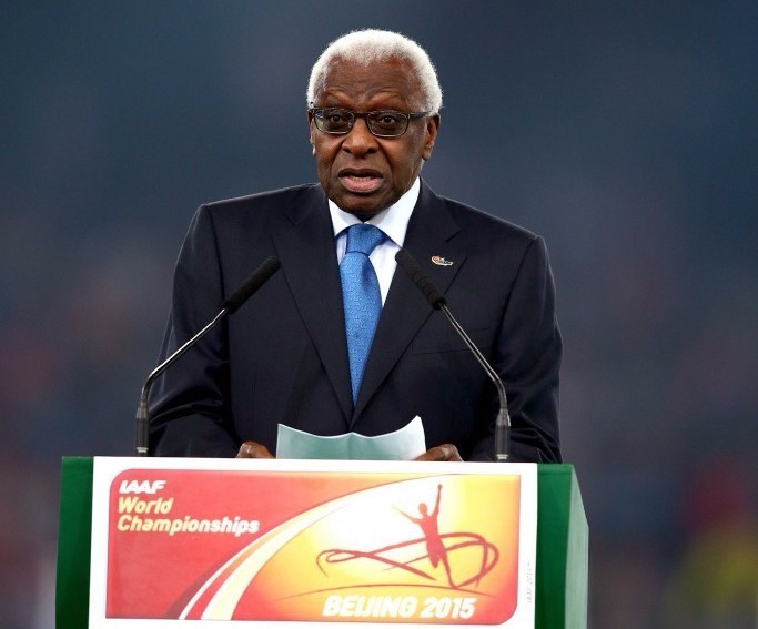 Lamine Diack has been named as an alleged special adviser in the e-mails ©Getty Images