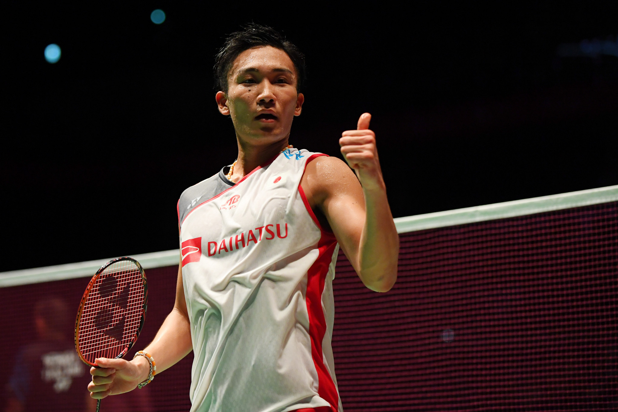 Momota is one of Japan's biggest hopes for a medal at their home Olympics, now scheduled for July and August 2021 ©Getty Images