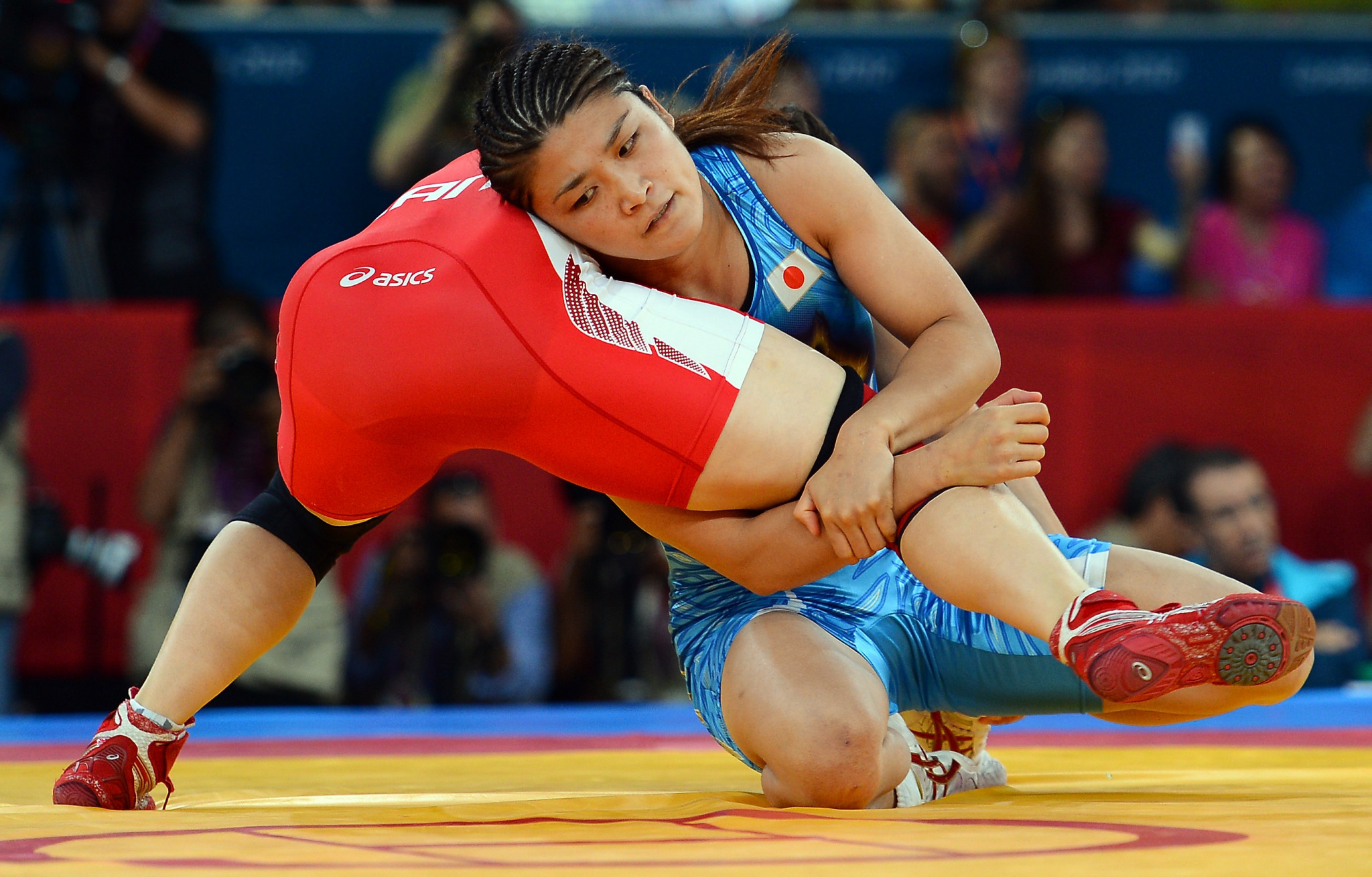 Kaori Icho, as a wrestler, had very little room for error come the Olympics ©Getty Images