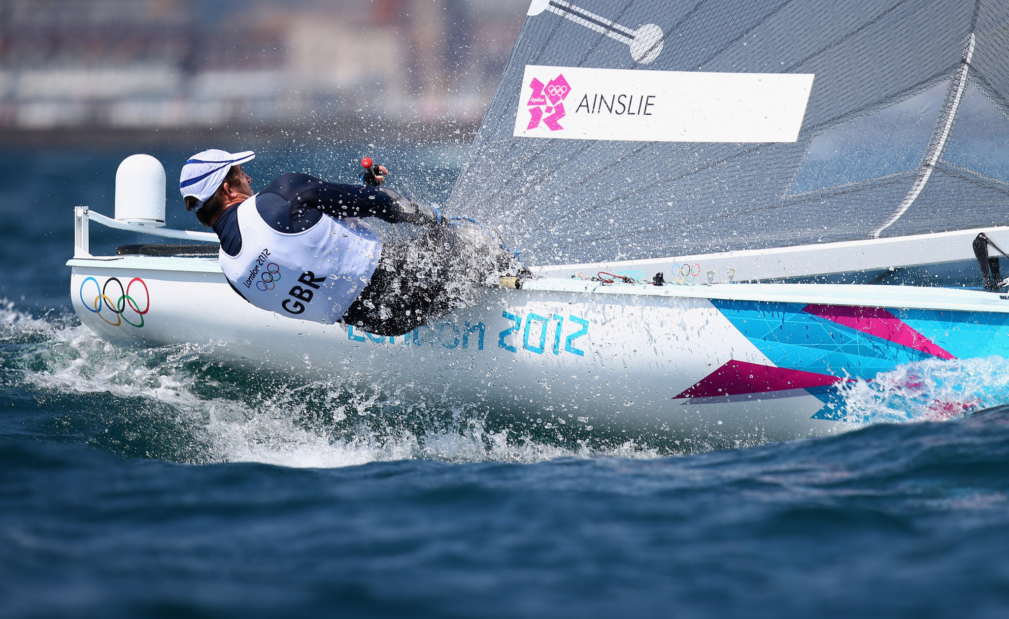 Sir Ben Ainslie won gold medals at four consecutive Olympics, but the sailing format leaves more room for error ©Getty Images