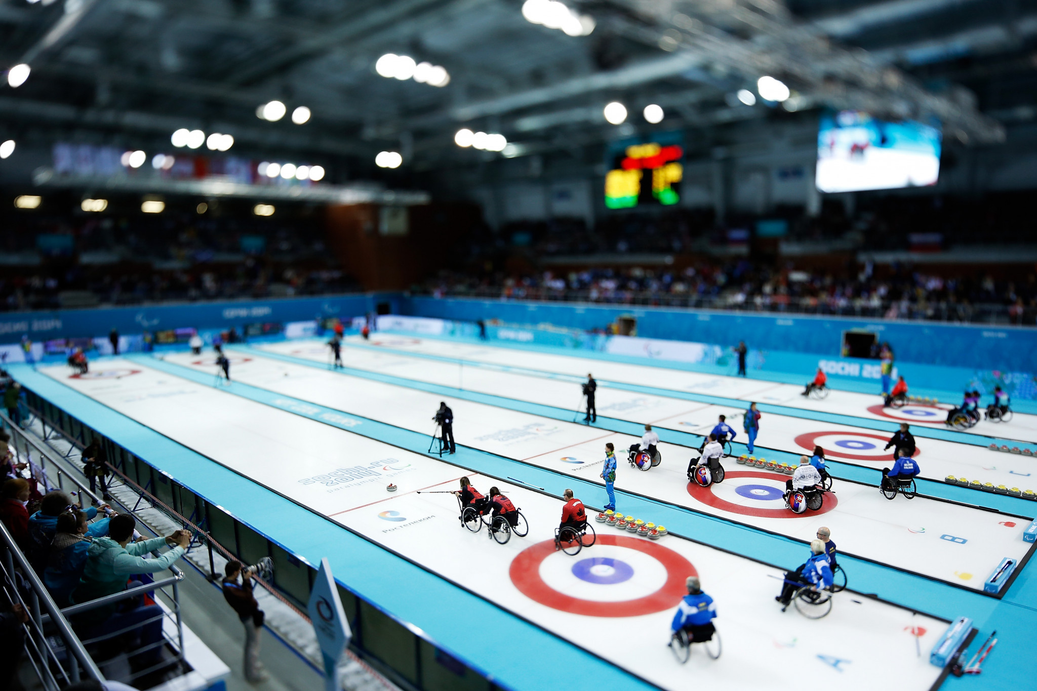 A mixed doubles competition in wheelchair curling is among event to have been added to the programme for the 2026 Winter Paralympic Games, but bobsleigh's fate is still to be determined ©Getty Images
