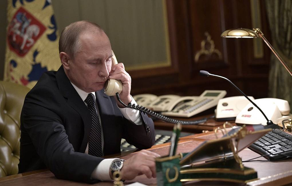 Putin and Bach hold first telephone conversation since CAS decision to halve ban