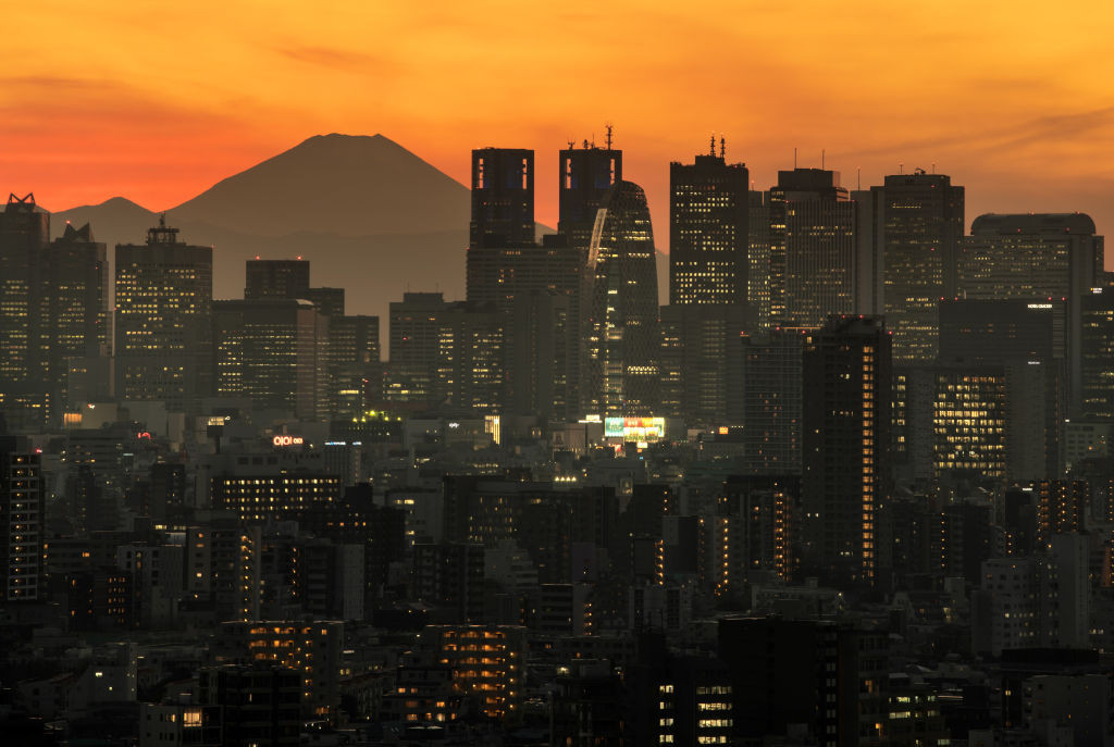 Tokyo today recorded more than 1,000 daily COVID-19 cases for the first time since the pandemic began ©Getty Images