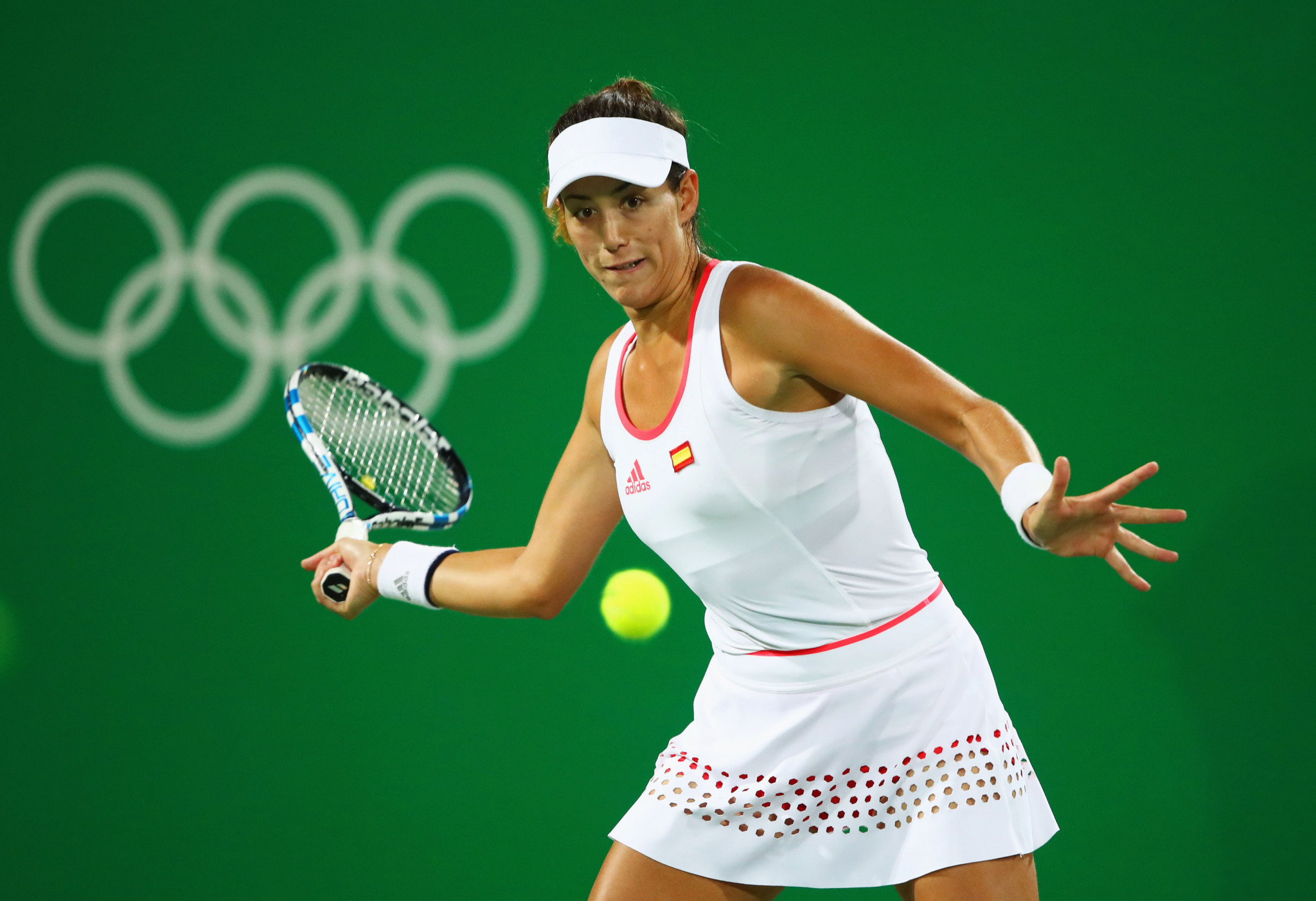 Garbiñe Muguruza reached the third round of the women's singles in her previous Olympic appearance at Rio 2016 ©Getty Images