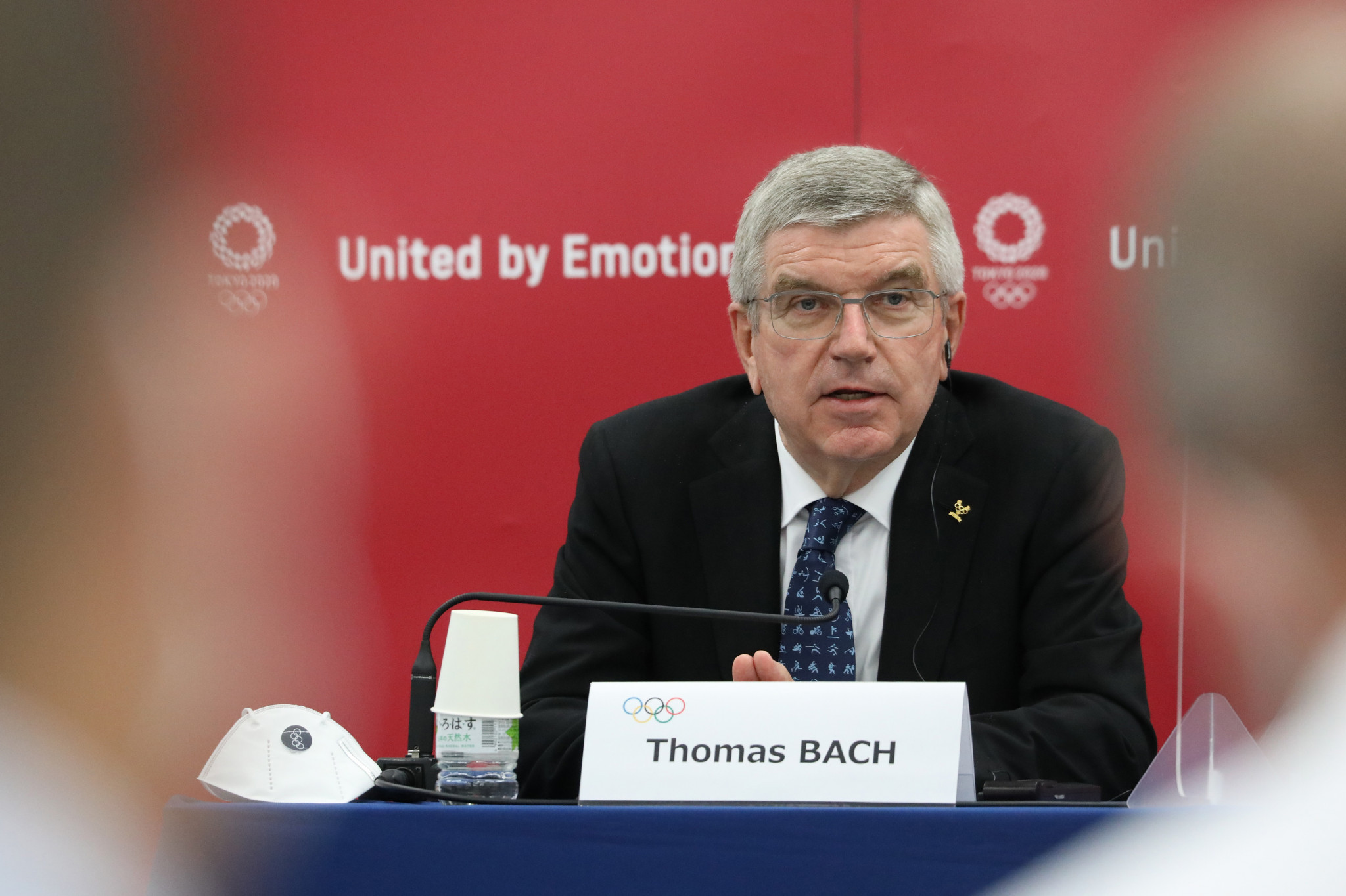 """Thomas Bach insisted that Tokyo 2020 """"will be the light at the end of the tunnel"""" as many countries continue to grapple with rising coronavirus cases ©Getty Images"""